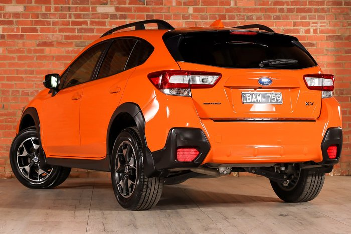 2019 Subaru XV 2.0i Premium G5X MY19 Four Wheel Drive Orange