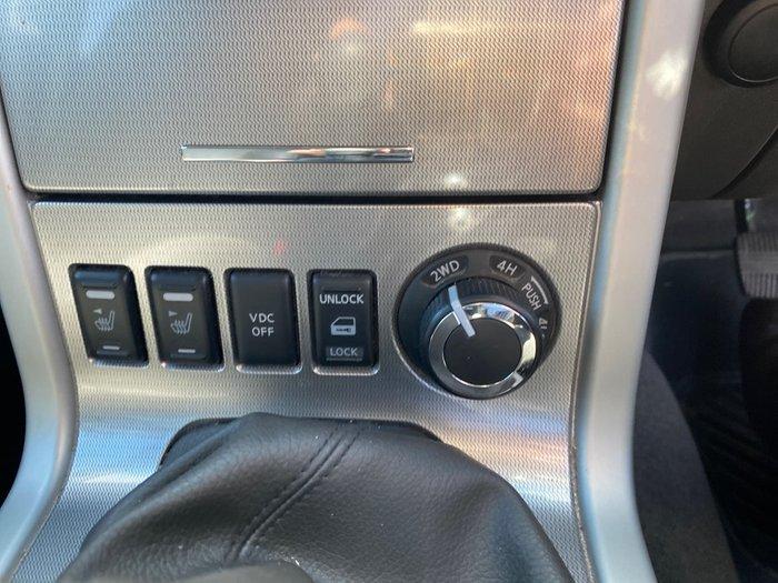 2014 Nissan Navara Titanium D40 Series 7 4X4 Dual Range White