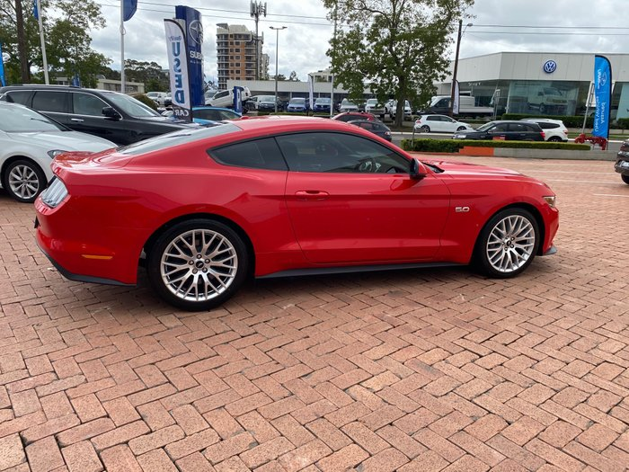 2016 Ford Mustang GT FM Red