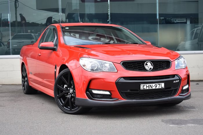 2017 Holden Ute SS VF Series II MY17 Red