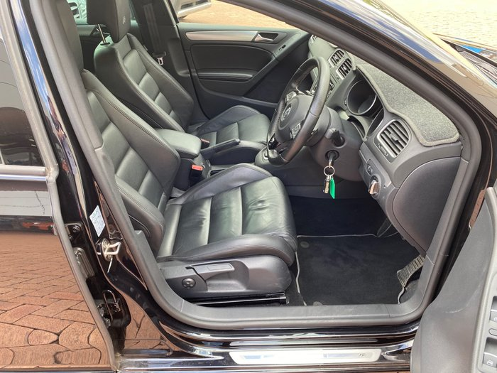 2012 Volkswagen Golf R VI MY13 Four Wheel Drive Black