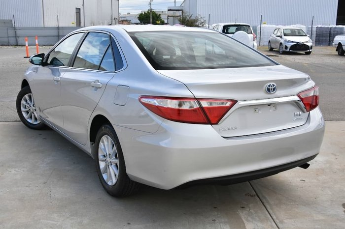 2015 Toyota Camry Altise AVV50R Silver