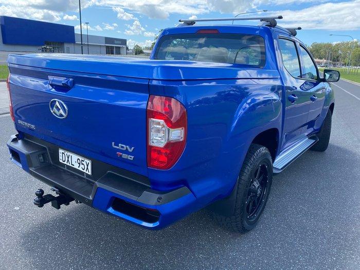 2018 LDV T60 PRO SK8C 4X4 Dual Range Blue