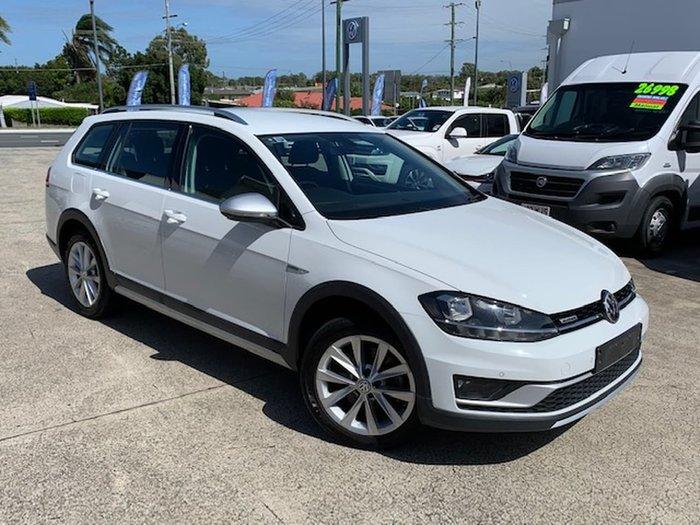 2017 Volkswagen Golf Alltrack 132TSI 7 MY17 Four Wheel Drive White
