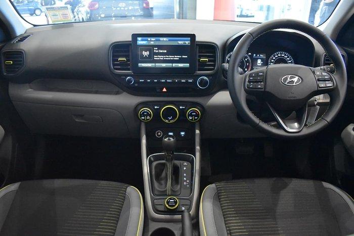 2020 Hyundai Venue Elite QX MY20 Yellow