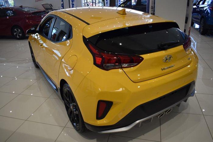 2019 Hyundai Veloster Turbo JS MY20 Yellow