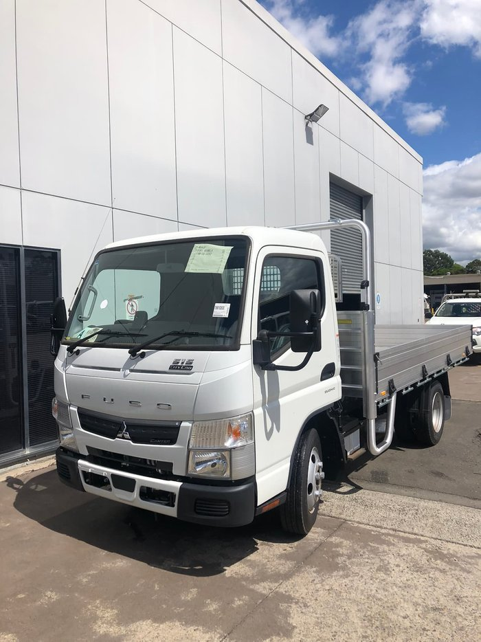 2020 FUSO CANTER 515 ALLOY TRAY DROPSIDES null null White