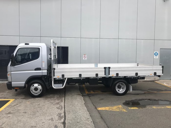 2019 FUSO CANTER 515 SILVER BUILT READY ALLOY TRAY DROP SIDES null null Silver