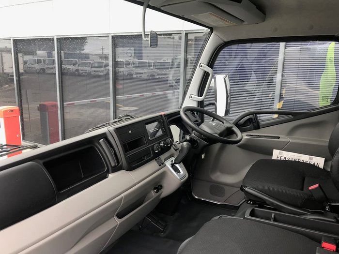 2019 FUSO CANTER 515 SILVER WIDE CAB ALLOY TRAY DROP SIDES null null Silver