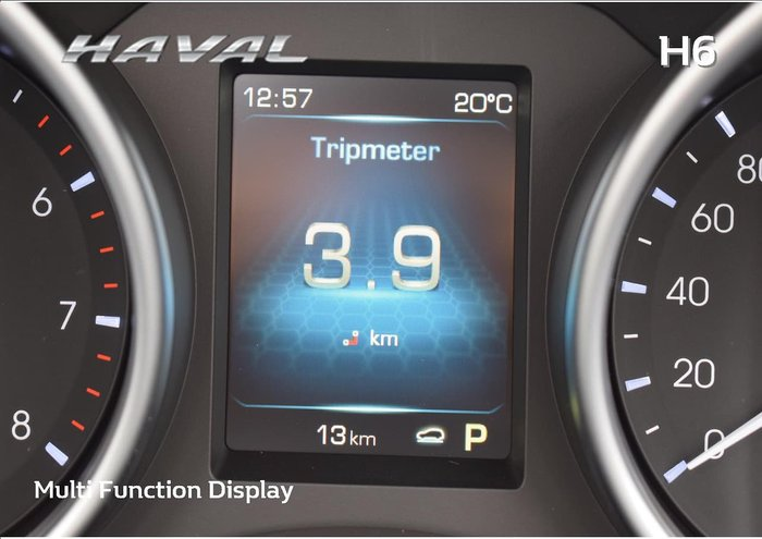 2018 Haval H6 LUX (No Series) White
