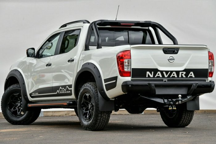 2020 Nissan Navara N-TREK Warrior D23 Series 4 4X4 Dual Range WHITE DIAMOND