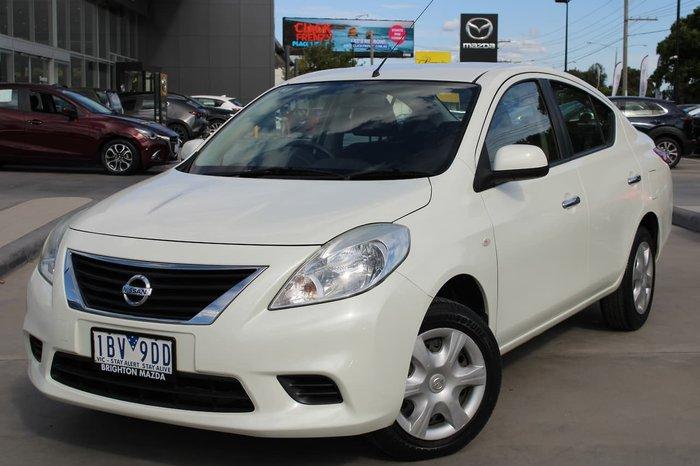 2013 Nissan Almera ST N17 White