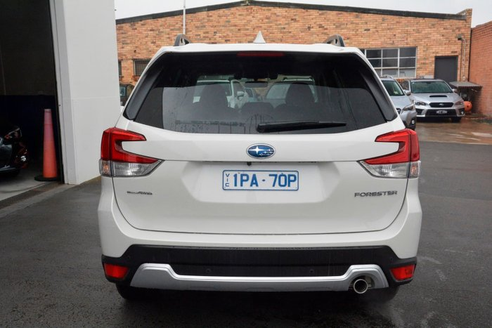 2019 Subaru Forester 2.5i-S S5 MY20 Four Wheel Drive White