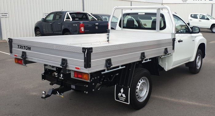 2020 Mitsubishi Triton GLX MR MY20 White