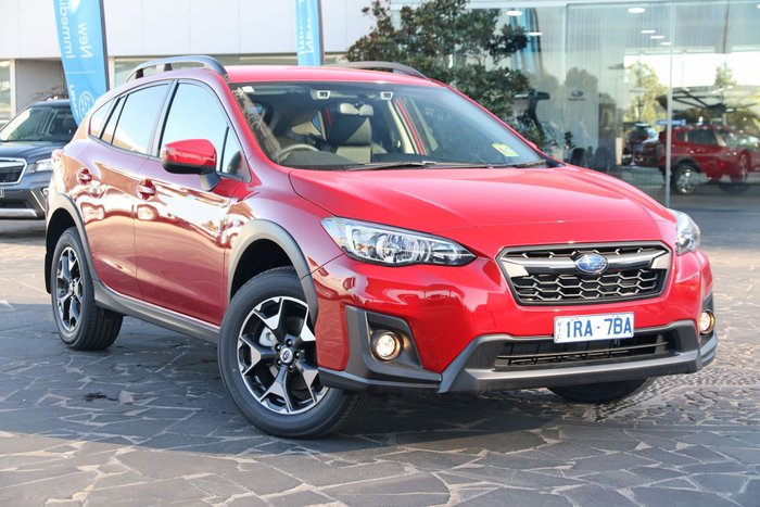 2019 Subaru XV 2.0i Limited Edition G5X MY19 Four Wheel Drive Red
