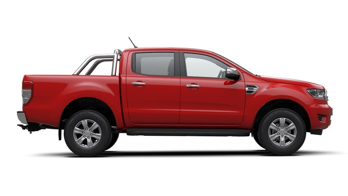 2020 Ford Ranger XLT PX MkIII MY20.25 4X4 Dual Range True Red
