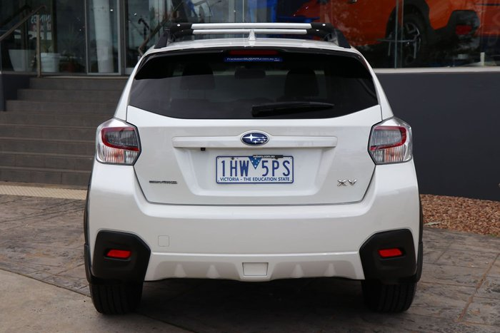 2016 Subaru XV 2.0i-L G4X MY16 Four Wheel Drive White