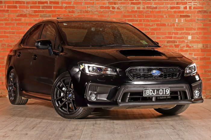 2019 Subaru WRX Premium V1 MY20 Four Wheel Drive Black