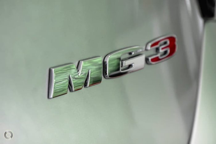 2019 MG MG3 Excite MY18 Silver