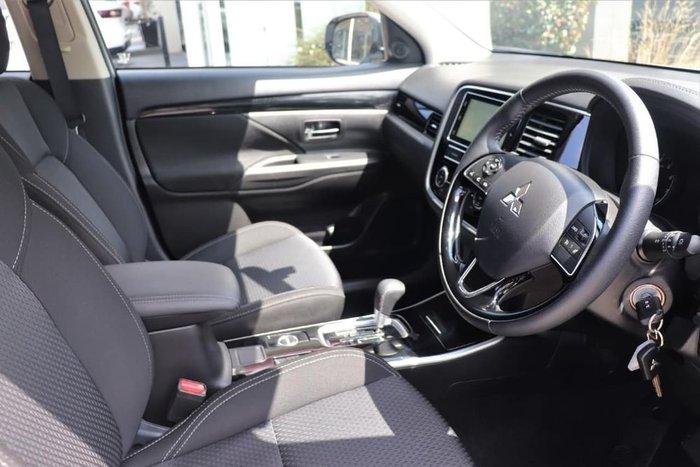 2019 Mitsubishi Outlander ES ZL MY19 4X4 On Demand White