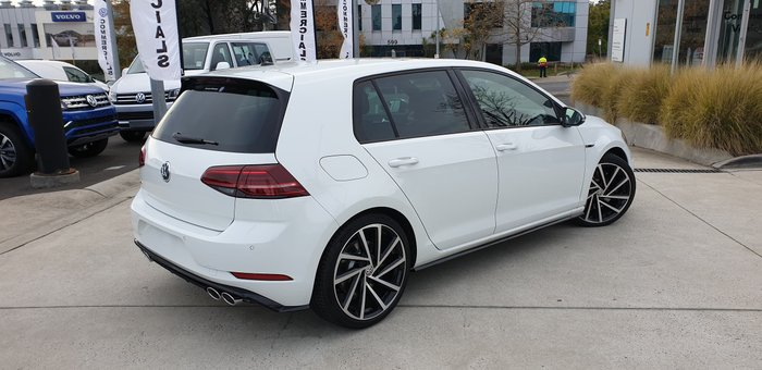 2019 Volkswagen Golf R 7.5 MY20 Four Wheel Drive White