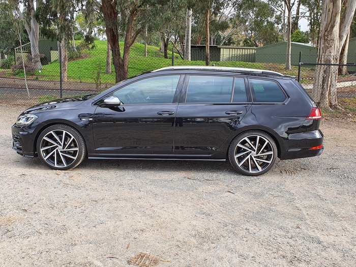 2019 Volkswagen Golf R 7.5 MY20 Four Wheel Drive Black
