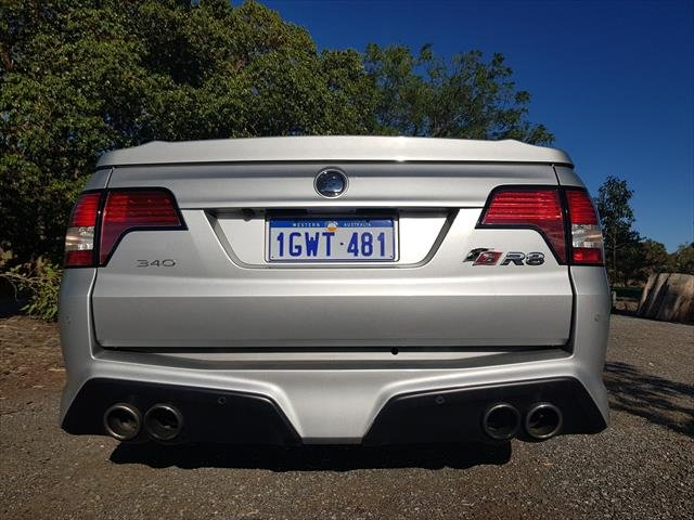 2014 Holden Special Vehicles Maloo R8 GEN-F MY14 SILVER