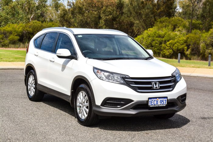 2013 Honda CR-V VTi RM 4X4 On Demand White