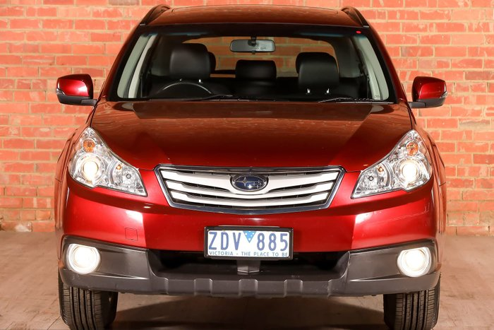 2012 Subaru Outback 2.5i Premium 4GEN MY12 Four Wheel Drive Red