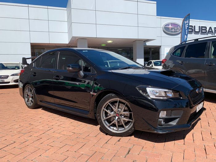 2014 Subaru WRX Premium V1 MY15 Four Wheel Drive Black