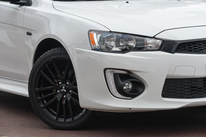 2017 Mitsubishi Lancer Black Edition CF MY17 White