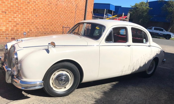 1958 JAGUAR MARK I (No Series) White