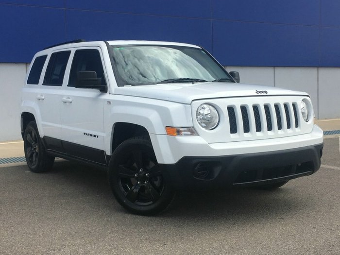 2014 Jeep Patriot Blackhawk MK MY14 WHITE