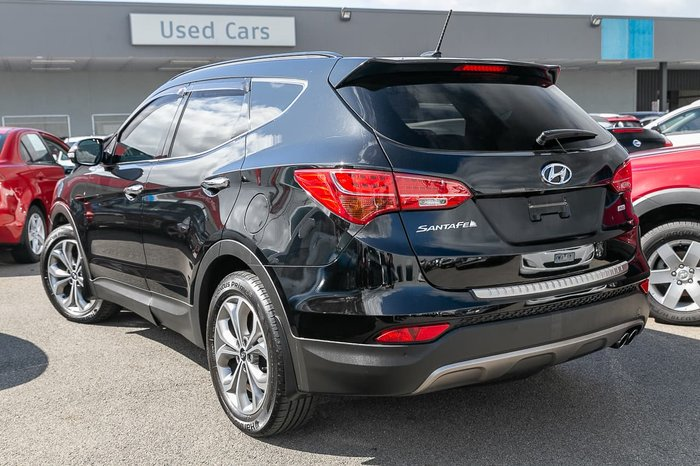 2014 Hyundai Santa Fe Highlander DM MY14 4X4 On Demand Black