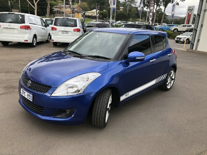 2013 Suzuki Swift RE2 FZ BLUE