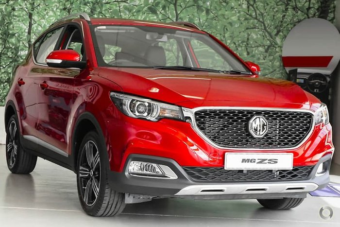 2020 MG ZS Excite AZS1 MY19 Red