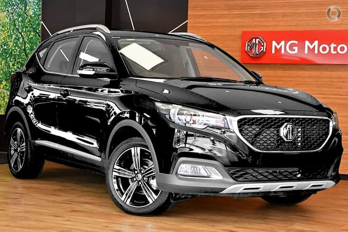 2020 MG ZS Excite AZS1 MY19 Black