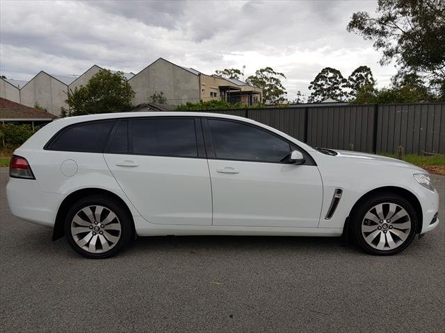 2014 Holden Commodore Evoke VF MY14 WHITE