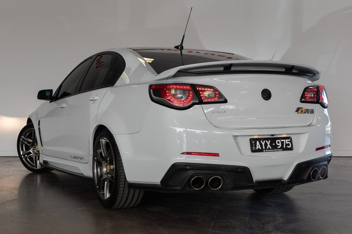 2016 Holden Special Vehicles Clubsport R8 Track Edition GEN-F2 MY16 White