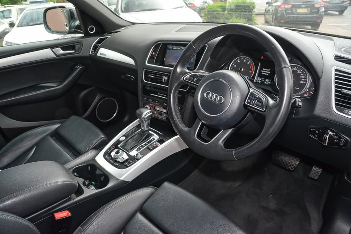 2016 Audi Q5 TFSI 8R MY16 Four Wheel Drive Grey