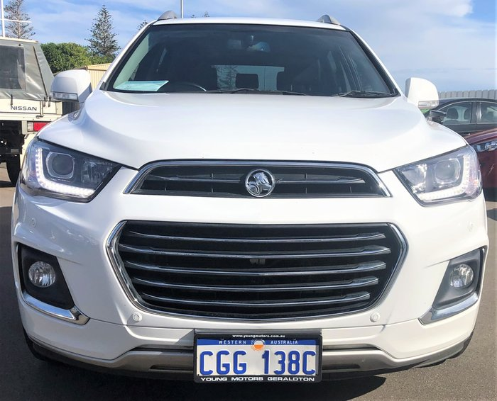 2016 Holden Captiva LTZ CG MY16 4X4 On Demand White