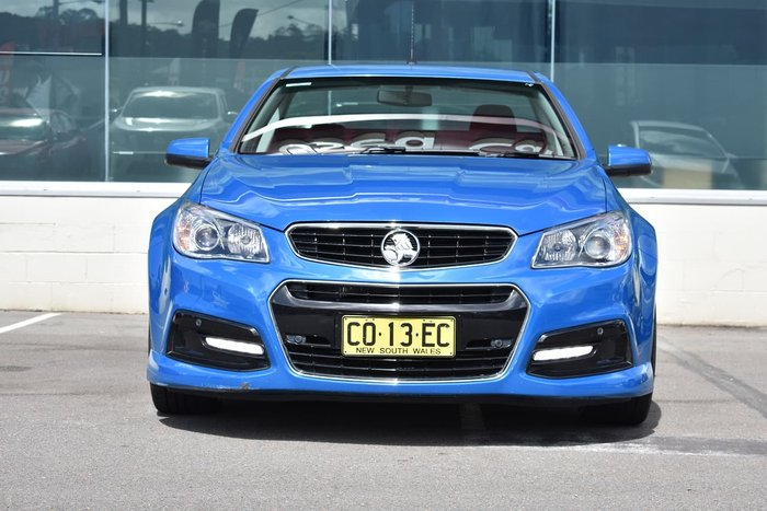 2014 Holden Ute SV6 VF MY14 Blue