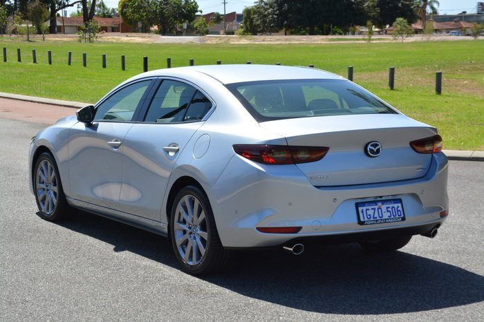2019 Mazda 3 G20 Touring BP Series Sonic Silver