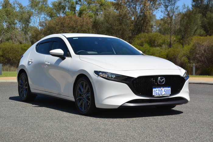 2019 Mazda 3 G25 GT BP Series White