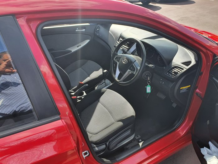2013 Hyundai Accent Active RB Red