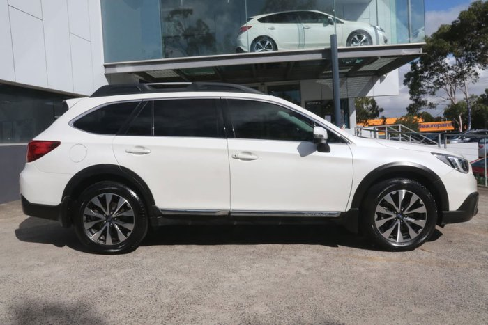 2015 Subaru Outback 3.6R 5GEN MY15 Four Wheel Drive White