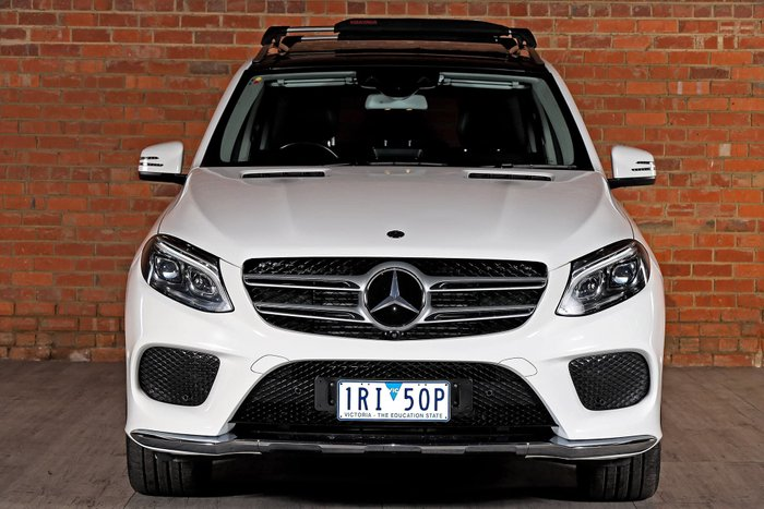 2017 Mercedes-Benz GLE-Class GLE350 d W166 Four Wheel Drive White