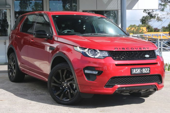 2017 Land Rover Discovery Sport TD4 180 HSE L550 MY17 4X4 Constant Red