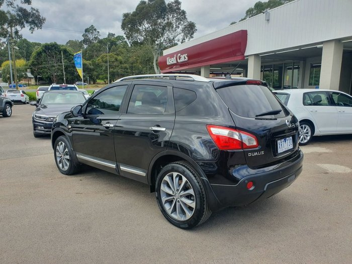 2010 Nissan Dualis Ti J10 Series II MY10 4X4 On Demand BLACK