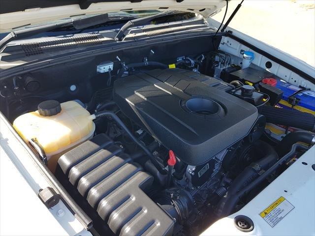 2015 SsangYong Rexton SX Y285 II MY14 4X4 Dual Range Grand White